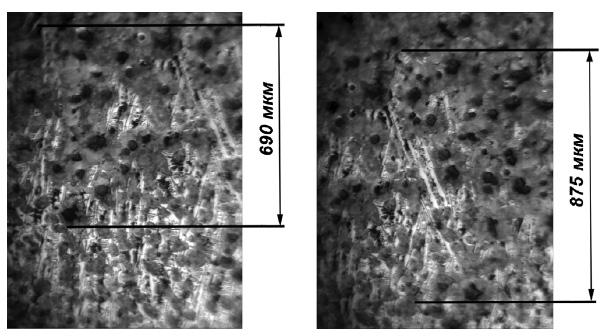 Микроструктура переходной зоны двухслойной чугунной отливки